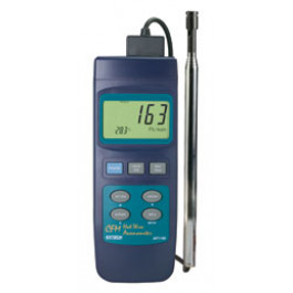 Extech 407119: Robust CFM Hot Wire Thermo-anemometer