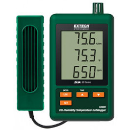 Extech SD800 CO2/Fugtighed/Temperatur datalogger